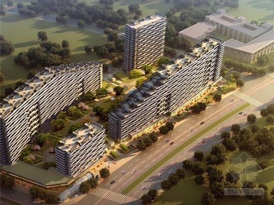 """[杭州]""""新都市主义""""现代典雅时尚居住区景观概念设计方案"""