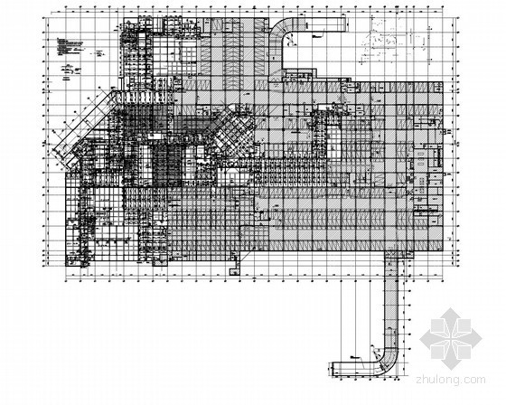 [浙江]三级甲等医院建筑给排水施工图(住院部、门楼、地下人防、后勤楼)
