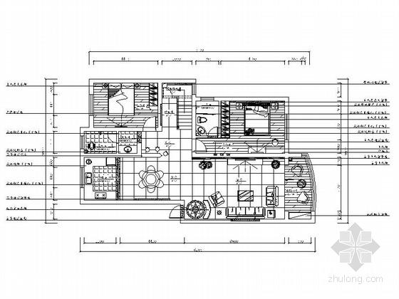 [青岛]花园小区现代时尚双层别墅装修图