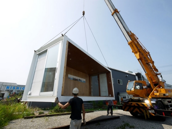 永久性使用的集装箱住宅建筑_3