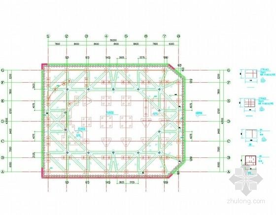 [浙江]12米深基坑排桩加两道混凝土内支撑支护施工图(附勘察报告)