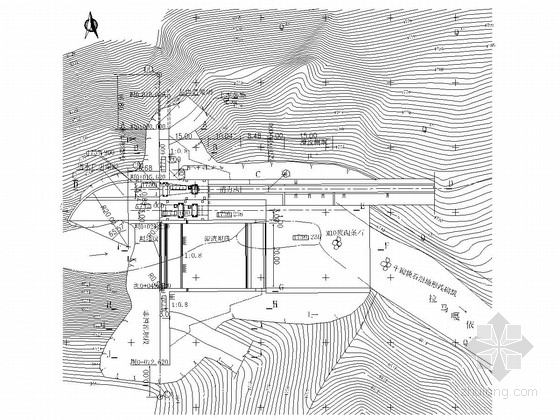 [黑龙江]水电站工程施工图(94张 重力坝 冲沙闸)
