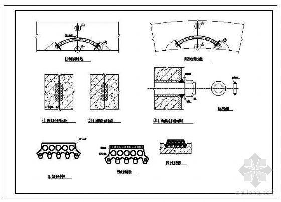 盾构管片防水设计节点构造详图