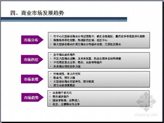 [天津]大型居住区商业分析报告