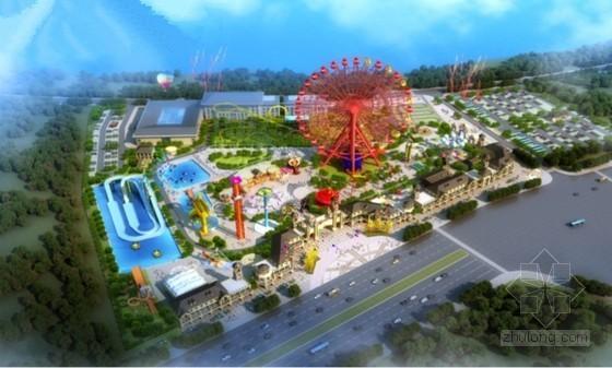 [安徽]环球嘉年华大型主题游乐园给排水全套施工图