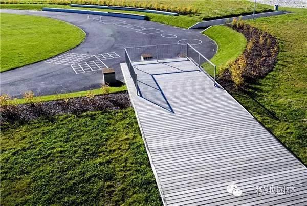 Gjerdrum高中校园景观设计