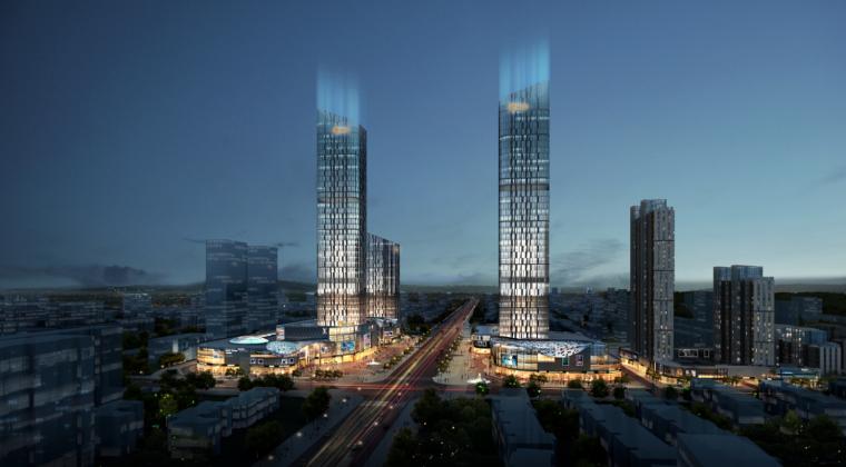[河南]地标性超高层写字楼SOHO公寓及商业综合体方案(含CAD)_6