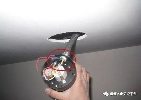 建筑电气工程施工质量通病和解决方法(现场施工图片解说)_17