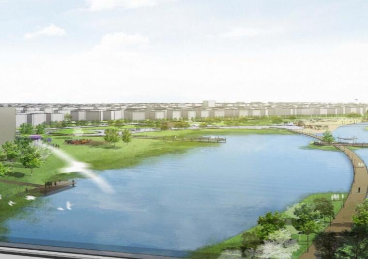 钱资湖景观概念规划设计方案文本-08文化滨湖体验区