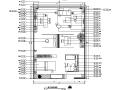 居然顶层设计中心一居室设计施工图(附效果图)