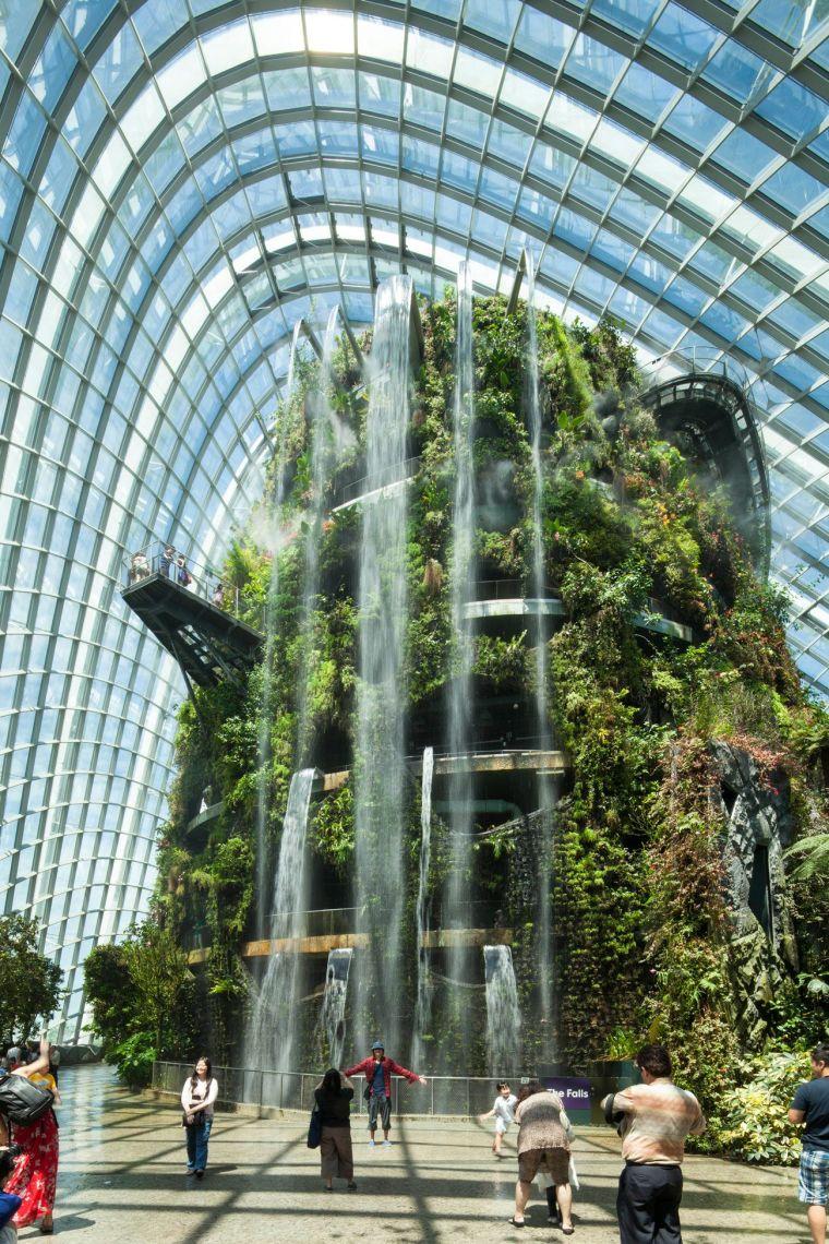 新加坡世界级超级温室花园-3