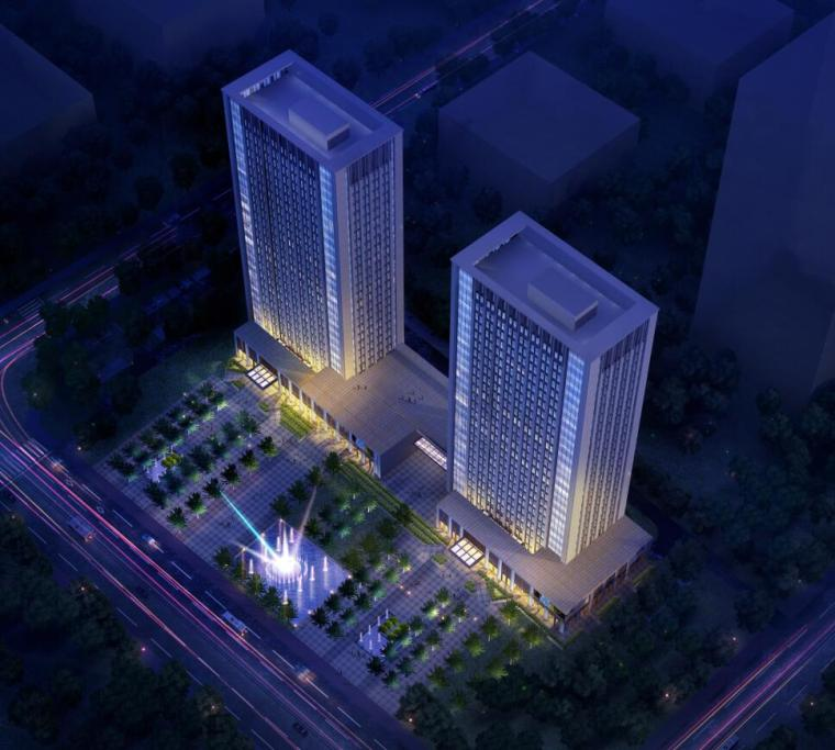 [山东]蓬莱蓬建集团办公楼设计方案文本(PDF+33页)