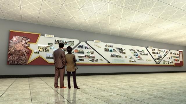 企业内部宣传栏设计 企业文化建设宣传设计方案