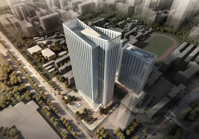 [武汉]保利高层住宅及超高层办公楼建筑方案文本(两套方案)_2