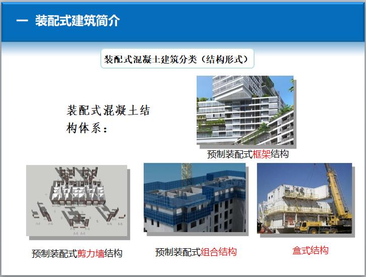 装配式混凝土建筑分类(结构形式)