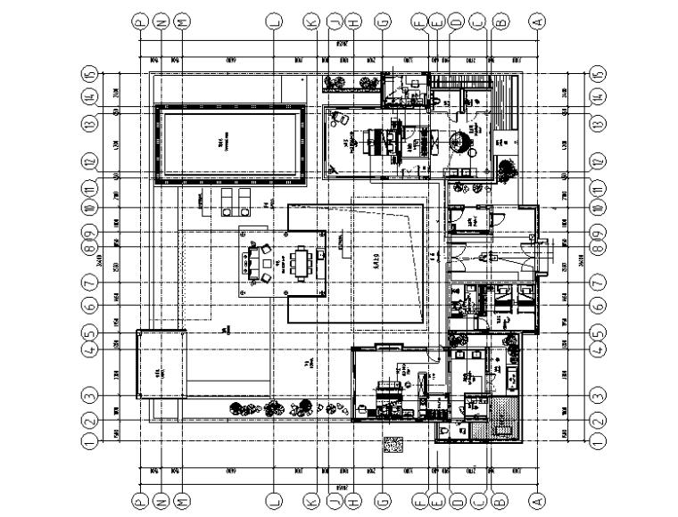 CCD海棠湾度假酒店别墅方案+效果图+施工图+机电图纸+物料书