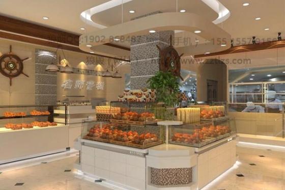 蛋糕店设计效果图-蛋糕店装修设计为什么要加入风格元素