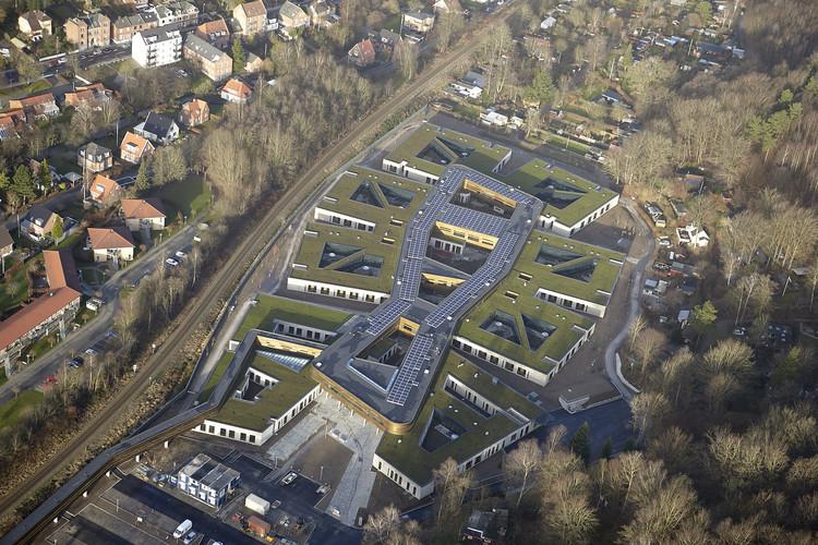 Vejle 精神医院治愈效果显著,宁静严谨的空间是心理患者的良药 / Arkitema Architects, Courtesy of MT Højgaard