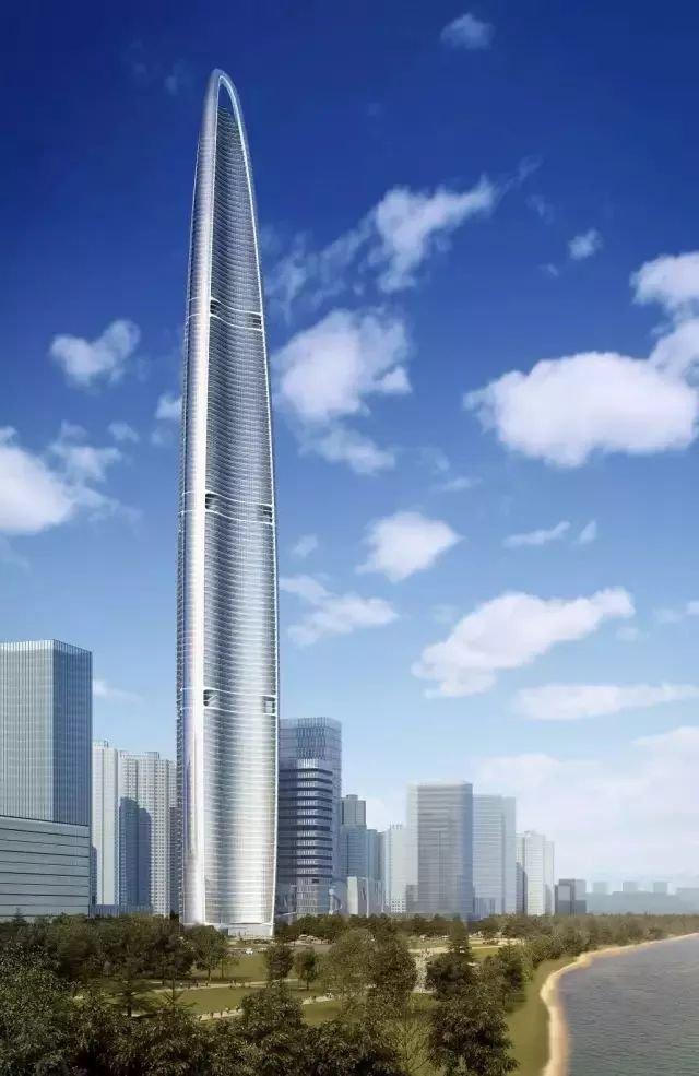中国高度,建世界第二高楼,636米125层今年竣工!_7