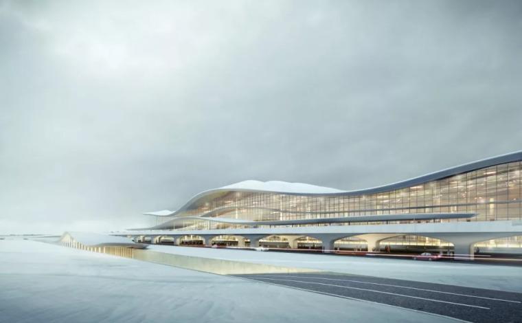 Aedas赢得烟台国际机场T2航站楼设计竞赛合集