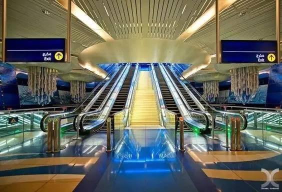 世界最美地铁景观,美到让你不想回家_41