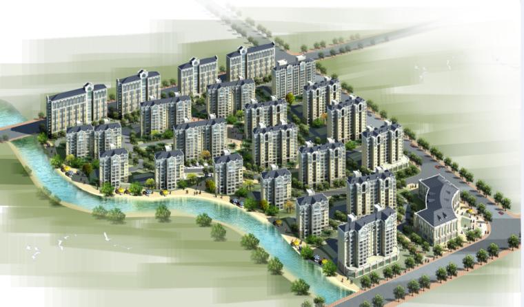 高层现代风格老年公寓及教师单身公寓建筑设计方案文本(华东院设