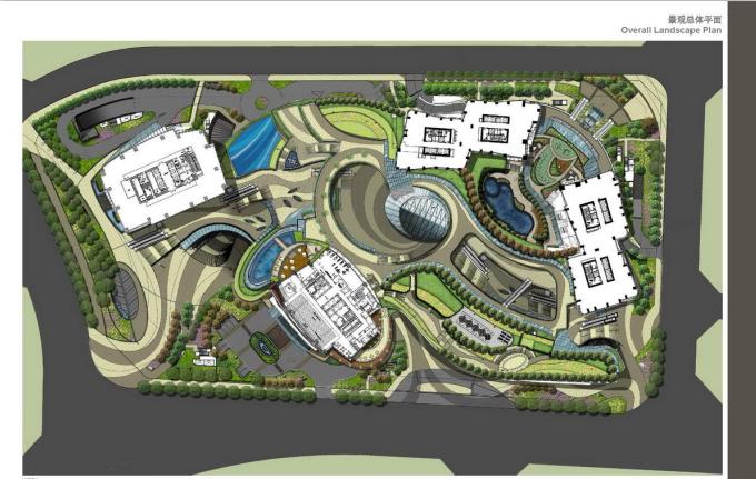 [四川]成都某南路发展项目景观设计