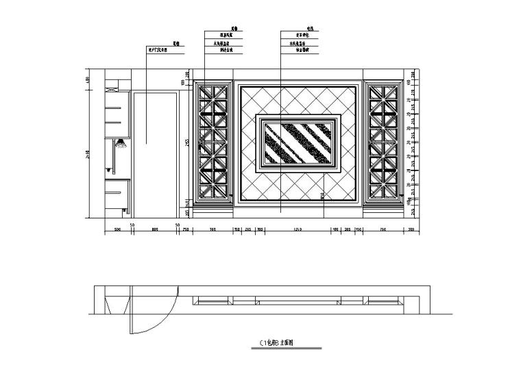 欧式奢华KTV设计施工图(含效果图)_4