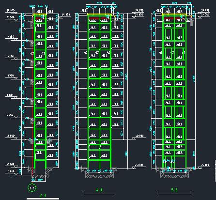 观光电梯建筑及钢结构施工图_2