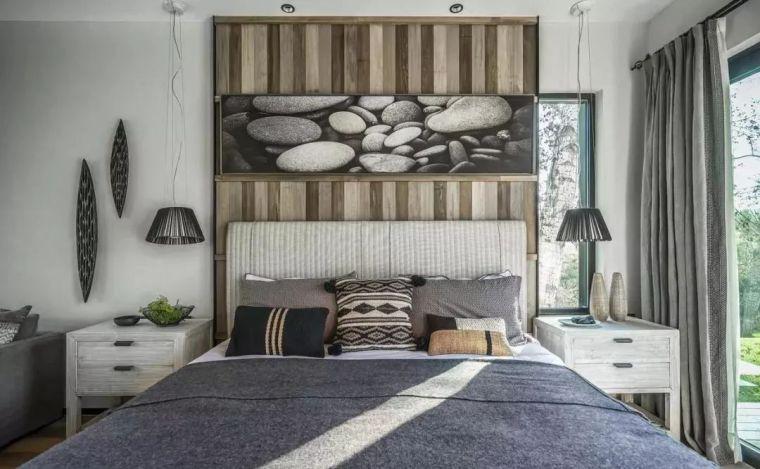 卧室背景墙别放空,这样设计美极了!_9