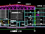三层体育会所施工图