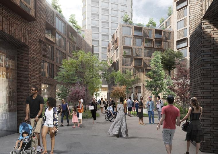 美国底特律地标性城市总体规划-6