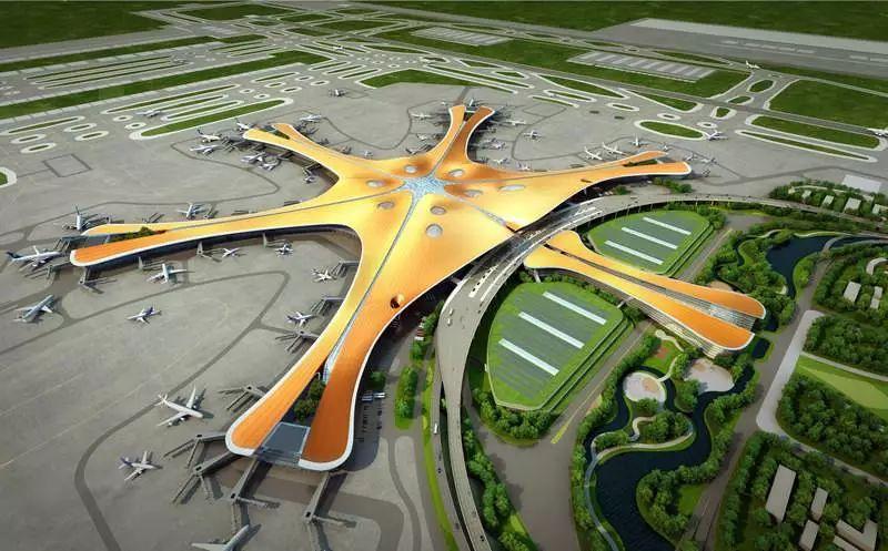 """中国最""""魔幻""""的北京大兴国际机场试飞了!黑科技满满…_8"""
