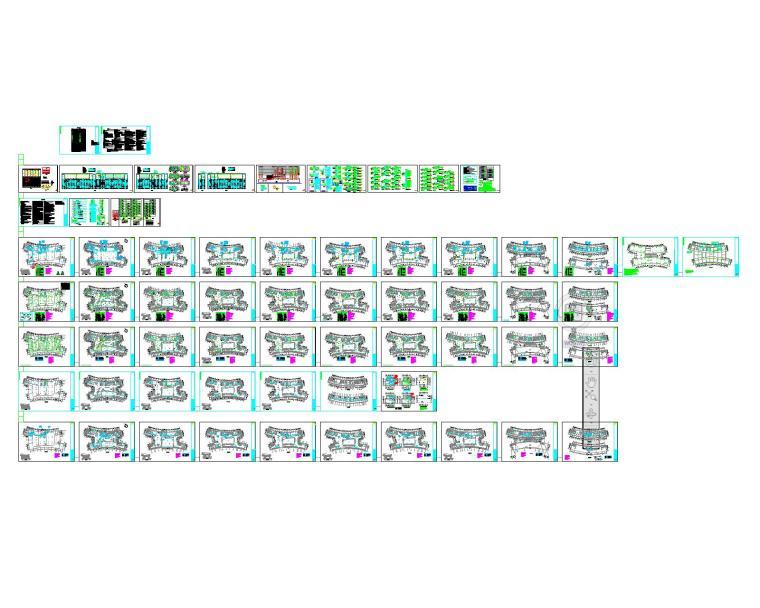 某图书馆电气施工图全套(含电气、照明、配电、消防联动)_13