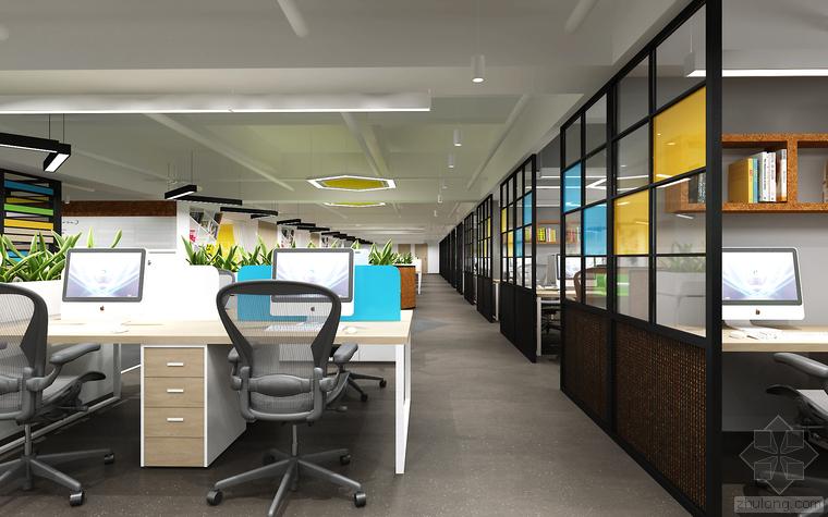 现代办公空间设计与装修研究