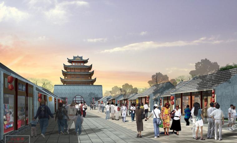[山东]聊城市古城区保护与整治规划方案文本-同济