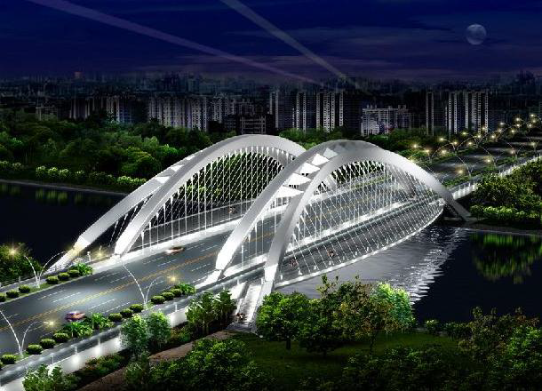 infraworks桥梁模型资料下载-BIM-市政行业解决方案介绍