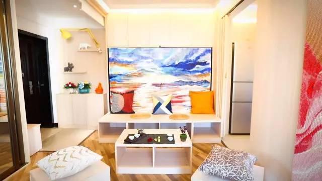 用心的设计,即使再小的房子也可以拥有功能齐全,温暖的家