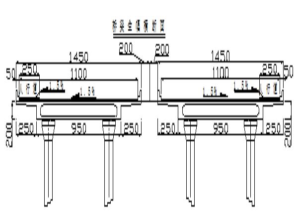 三跨连续箱梁桥设计