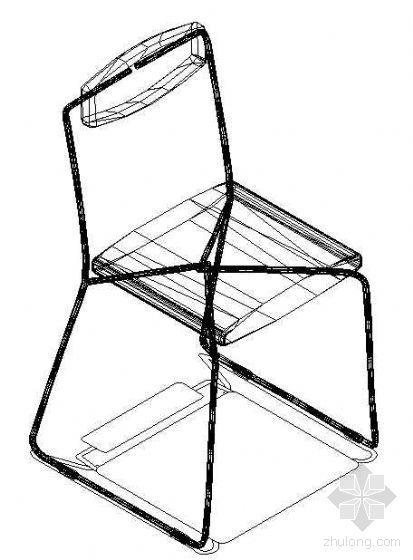 办公家具CAD模型23