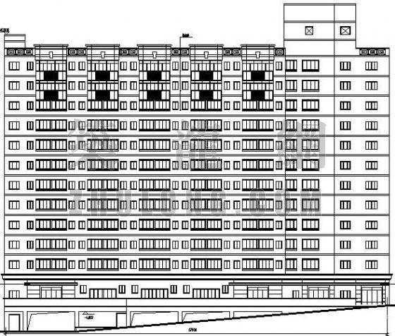 某学生宿舍建筑设计方案