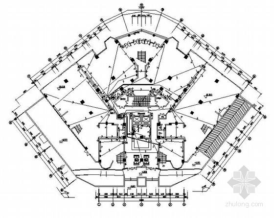 福建某二十层高层建筑强电图