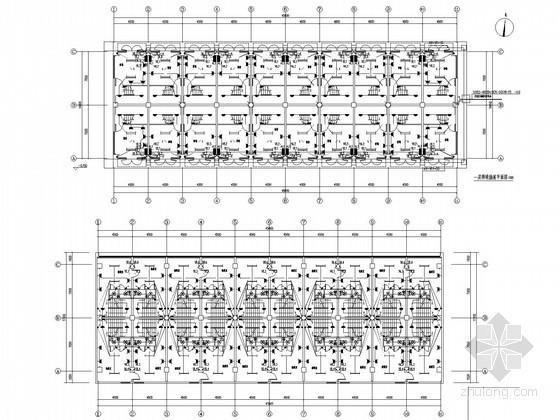 大型综合批发交易市场全套电气施工图纸(含23个商铺)