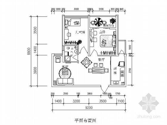 两居室小户型简单装修方案