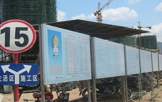 [福建]住宅小区项目创建省级文明施工工地策划书