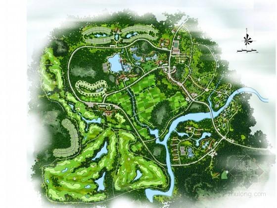 [海南]县城温泉度假区控制性详细规划方案