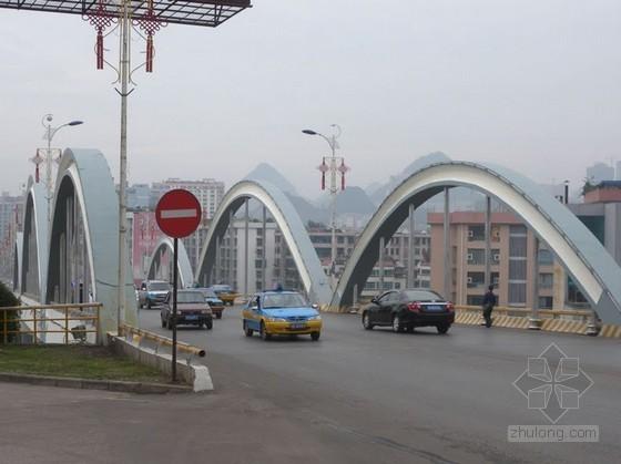三跨上承式系杆拱桥承台施工方案