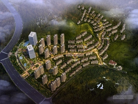 [江苏]欧式风格住宅区建筑设计规划方案文本