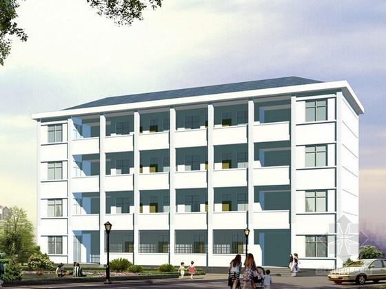 [湖南]2016年新建学生宿舍楼建筑安装工程预算书(附CAD图纸)