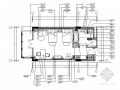 [广东]文化主题酒店标准单床客房装修CAD竣工图